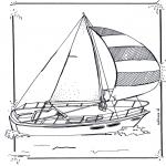 Todos os tipos de - Barco de navegação