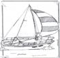 Barco de navegação