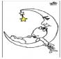 Bebê e da lua