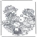 Todos os tipos de - Bebendo chá