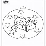 Natal - Bola de Natal - Anjo 2