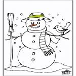 Inverno - Boneco de Neve 2