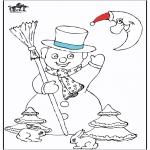 Inverno - Boneco de Neve 5