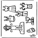 Ofícios - Boneco de papel 3
