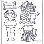 Ofícios - Boneco de papel 5
