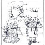 Ofícios - Boneco de papel - Roupas 2