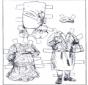 Boneco de papel - Roupas 2