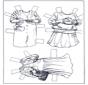 Boneco de papel - Roupas 3
