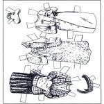 Ofícios - Boneco de papel - Roupas 4