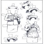 Ofícios - Boneco de papel - Roupas 5