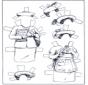 Boneco de papel - Roupas 5