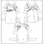 Ofícios - Boneco de papel - Roupas 6