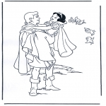 Personagens de banda desenhada - Branca de Neve 1