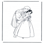 Personagens de banda desenhada - Branca de Neve 12