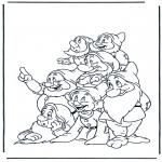 Personagens de banda desenhada - Branca de Neve 13