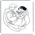 Personagens de banda desenhada - Branca de Neve 2