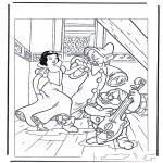 Personagens de banda desenhada - Branca de Neve 6
