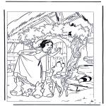 Personagens de banda desenhada - Branca de Neve 7
