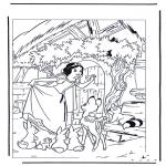 Personagens de banda desenhada - Branca de Neve 8