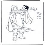 Personagens de banda desenhada - Branca de Neve 9