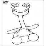 Crianças - Brinquedos para colorir 3