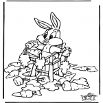 Personagens de banda desenhada - Bugs Bunny 2