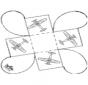 Caixa de presente - Avião