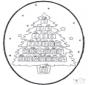 Calendário de Natal de picotar