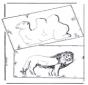 Camelo e leão