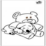 Animais - Cão e urso