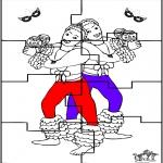 Tema - Carnaval puzzle