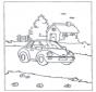 Carro e casa