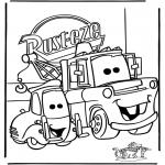 Personagens de banda desenhada - Cars 1