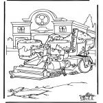 Personagens de banda desenhada - Cars 7