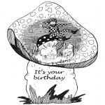 Ofícios - Cartão de aniversário 1