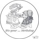 Ofícios - Cartão de aniversário 2