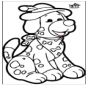 Cartão de Furar - Cão 1