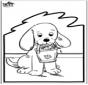 Cartão de Furar - Cão 2