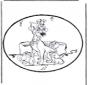 Cartão de picotar - A dama e o vagabundo 1