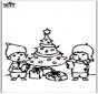Cartão de picotar - Árvore de Natal 4