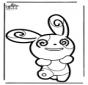 Cartão de picotar Pokemon 5