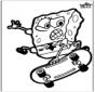 Cartão de picotar Spongebob