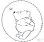 Cartão de picotar - Ursinho Puff 2