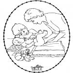 Tema - Cartão de Recortar Bebé