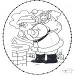 Natal - Cartão de recortar de Natal 21