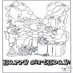 Ofícios - Cartão feliz aniversário 1