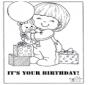 Cartão feliz aniversário 2
