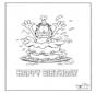 Cartão feliz aniversário 3