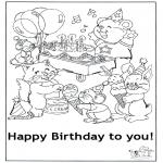 Ofícios - Cartão feliz aniversário 5