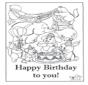 Cartão feliz aniversário 6